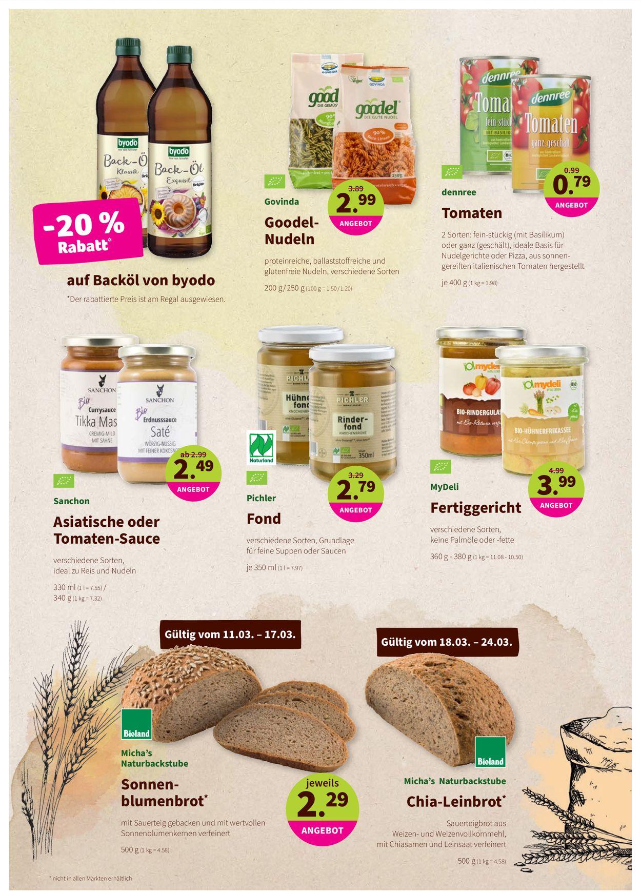 Prospekt Denn's Biomarkt vom 11.03.2020