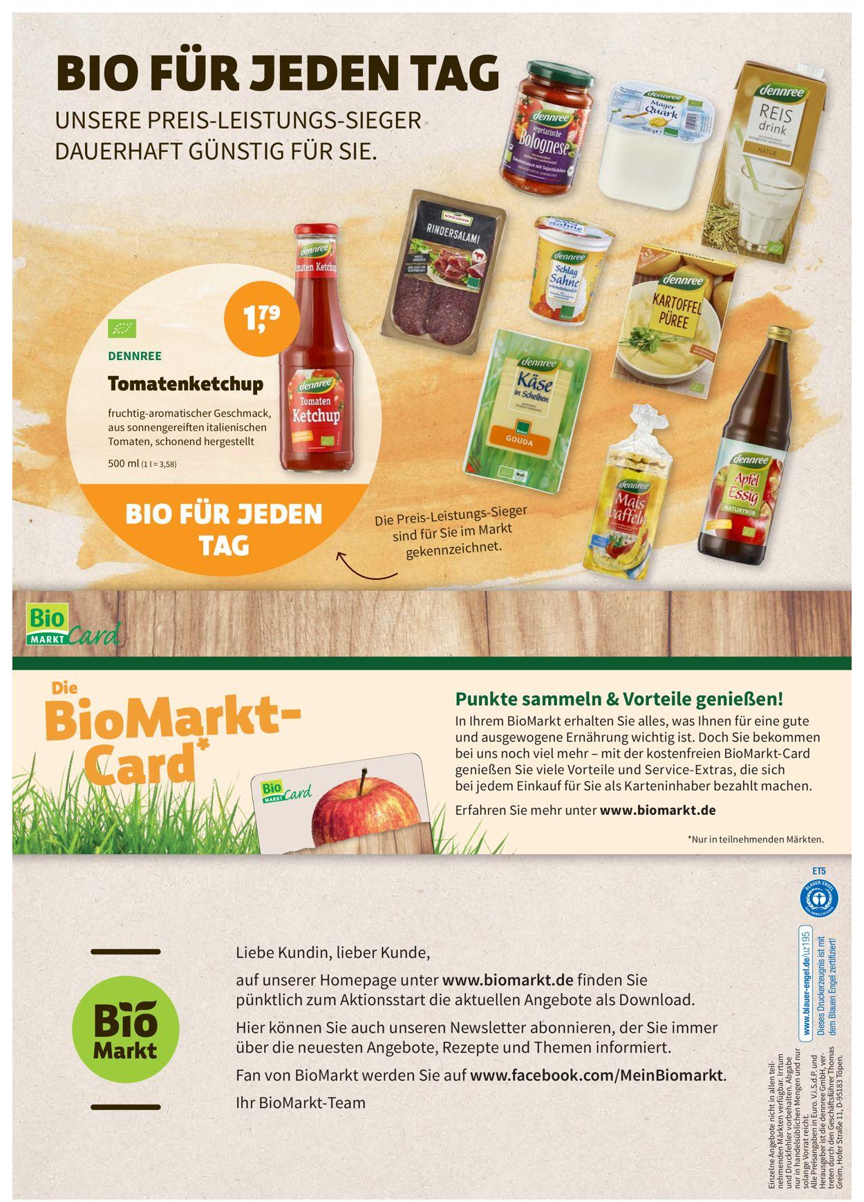 Prospekt Denn's Biomarkt vom 26.05.2021