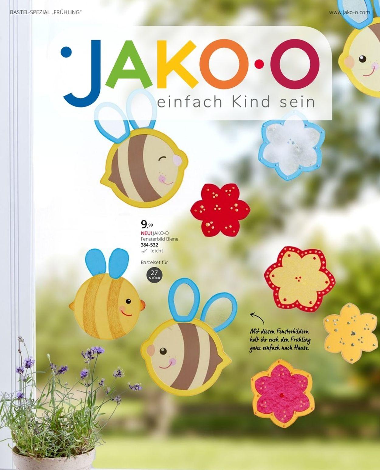 Prospekt JAKO-O Bastel-Spezial Frühling 2021 vom 01.03.2021