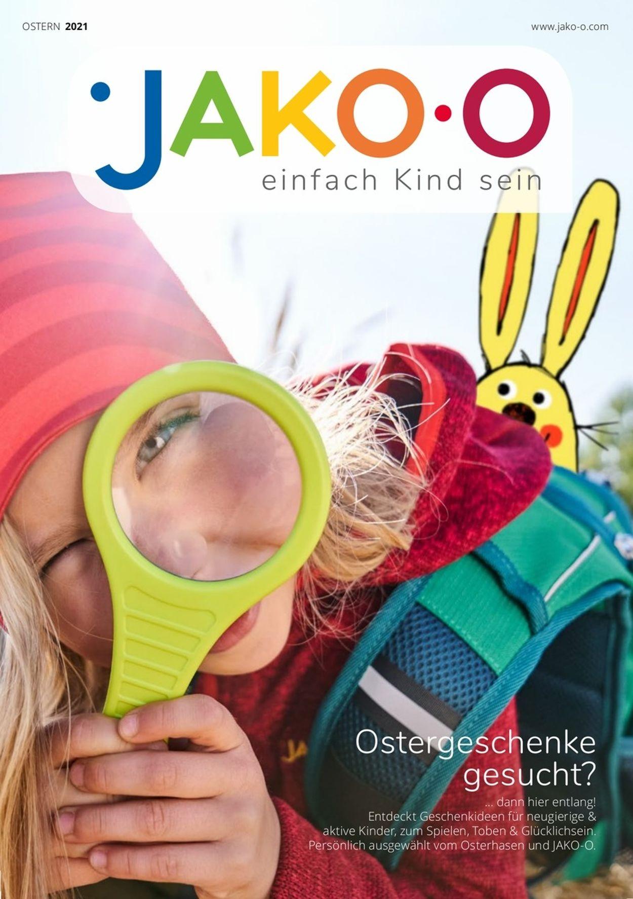 Prospekt JAKO-O Ostern 2021 vom 01.03.2021
