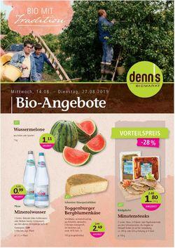 Prospekt Denn's Biomarkt vom 14.08.2019