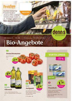 Prospekt Denn's Biomarkt vom 28.08.2019