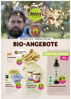 Prospekt Denn's Biomarkt vom 12.02.2020