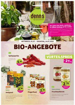 Prospekt Denn's Biomarkt vom 01.07.2020
