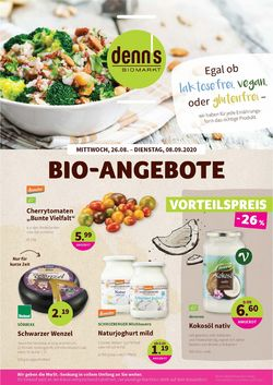 Prospekt Denn's Biomarkt vom 26.08.2020