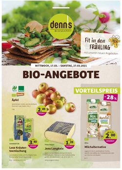 Prospekt Denn's Biomarkt vom 17.03.2021