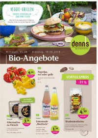 Prospekt Denn's Biomarkt vom 05.06.2019