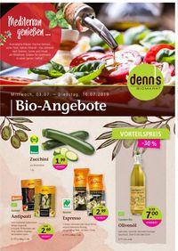 Prospekt Denn's Biomarkt vom 03.07.2019
