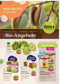 Prospekt Denn's Biomarkt vom 31.07.2019