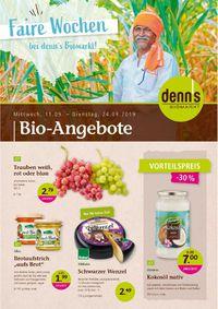 Prospekt Denn's Biomarkt vom 11.09.2019