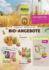 Prospekt Denn's Biomarkt vom 15.07.2020